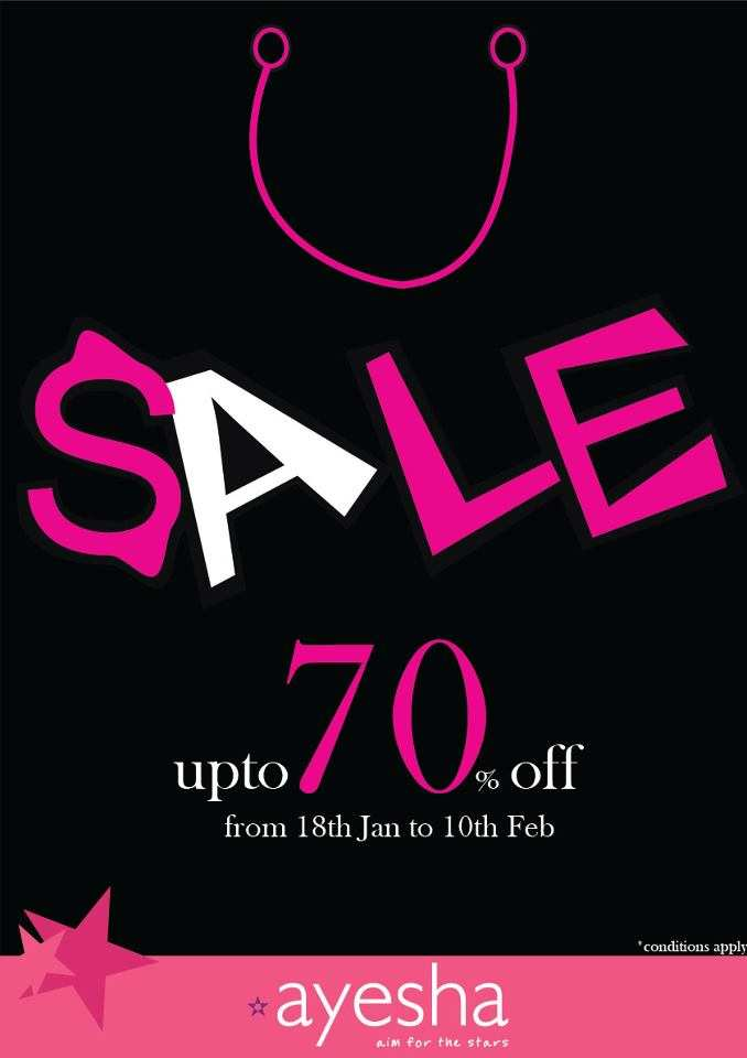 Ayeshaaccessories: Avail Upto 70% Off From 18