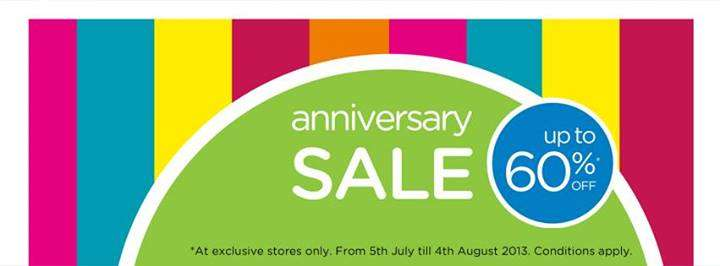 Crocs anniversary sale upto off at exclusive
