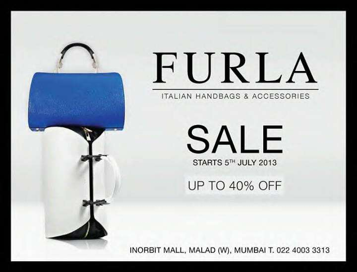 furla italian handbags sale up to 40 off from 5 july 2013 deals sales offers discounts. Black Bedroom Furniture Sets. Home Design Ideas