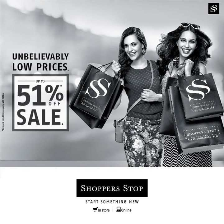 Shoppers Stop Online Sale Today: Upto 80% Off Offers + Rs CashKaro Cashback. Use our Exclusive Shoppers Stop Coupon Code to get Extra 20% Discount. Shop online at Shoppers Stop for sarees, kurtis, jackets, sunglasses, watches etc. & Save Big.