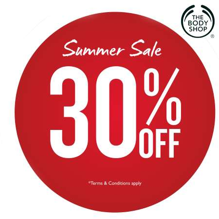2017 summer fashion trends - The Body Shop Summer Sale Up To 30 Off On A Number Of