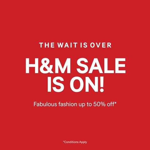 the h m sale is here fabulous fashion at up to 50 off deals sales offers discounts in. Black Bedroom Furniture Sets. Home Design Ideas