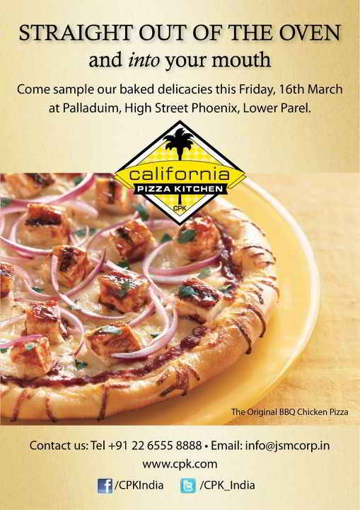 California Pizza Kitchen Phoenix Lower Parel