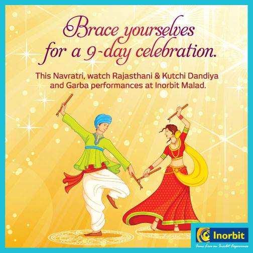 Brc Holiday Celebration Photos 2015: Navratri Celebration At Inorbit Mall Malad From 13 To 21