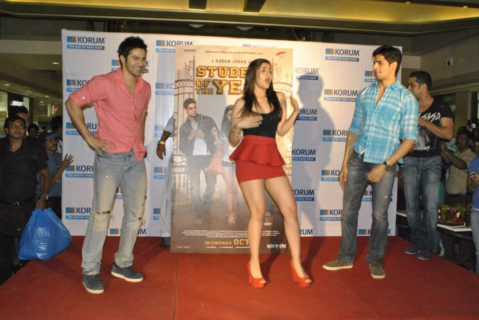 Varun Dhawan And Siddharth Malhotra Meet Alia Bhatt, Varun...