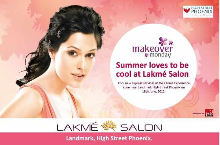 Makeover Monday at the Lakme Salon, High Street Phoenix on ...