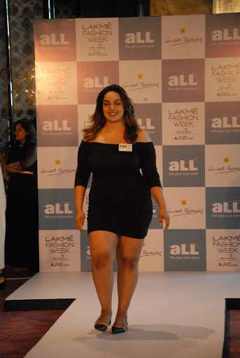 fd33e8ccb4 21 models emerged as winners at the Plus size auditions held by Lakmé  Fashion Week and