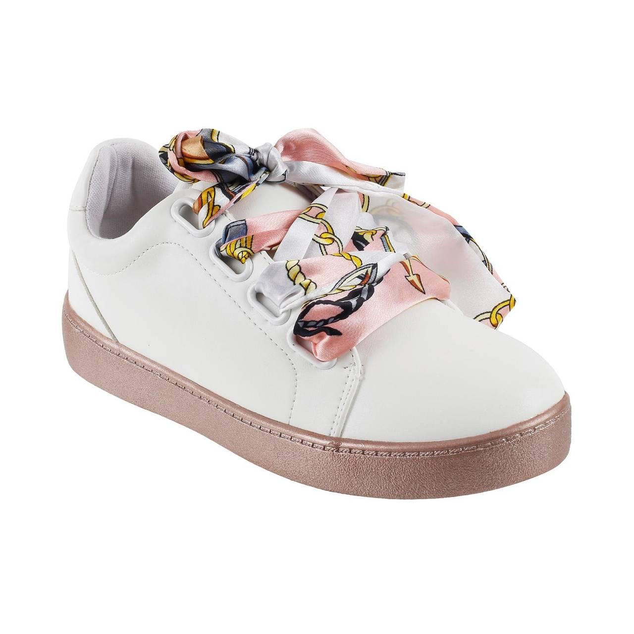 Metro White Sneakers