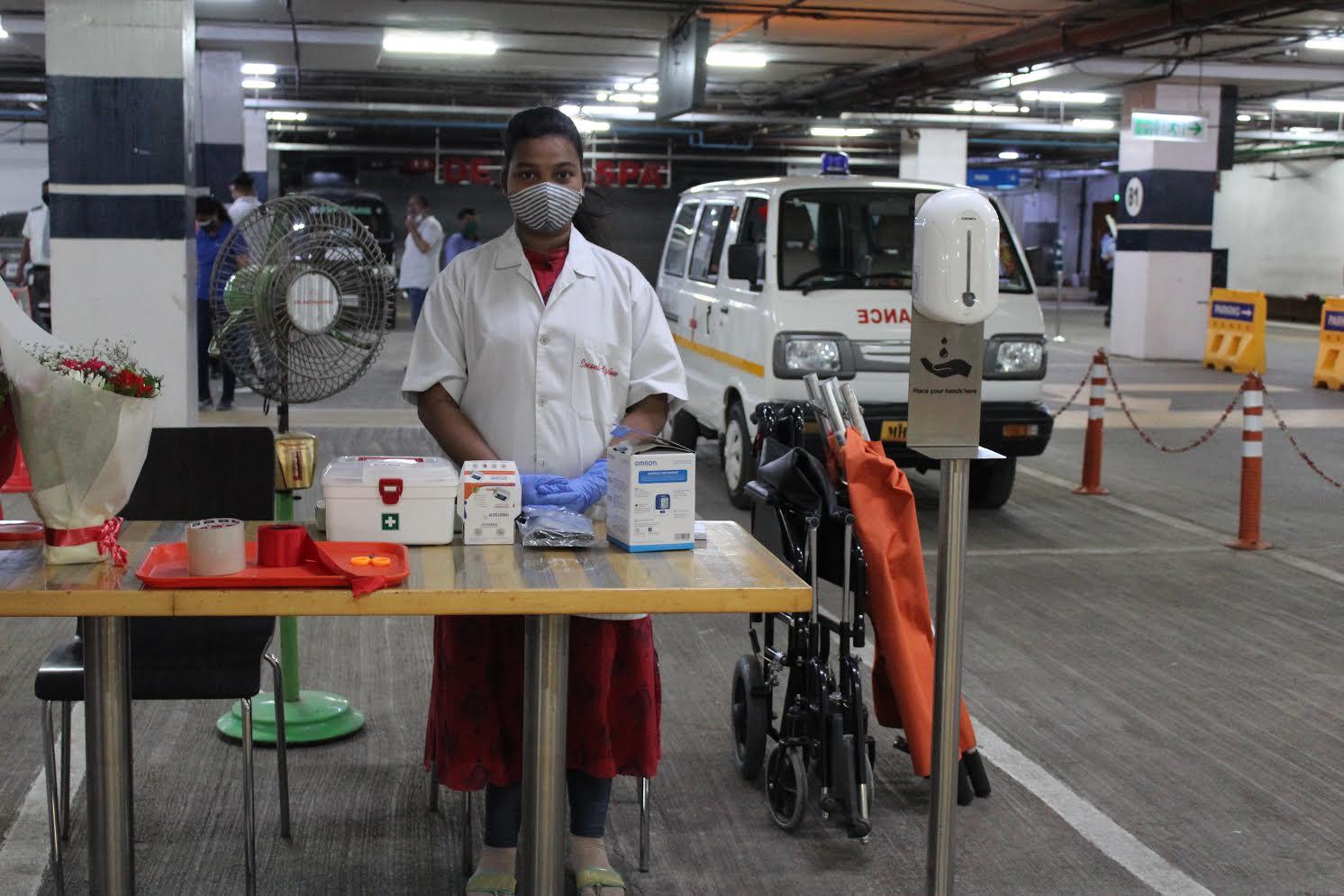 Oberoi Mall organizes a Drive-In Covid-19 Vaccination for citizens