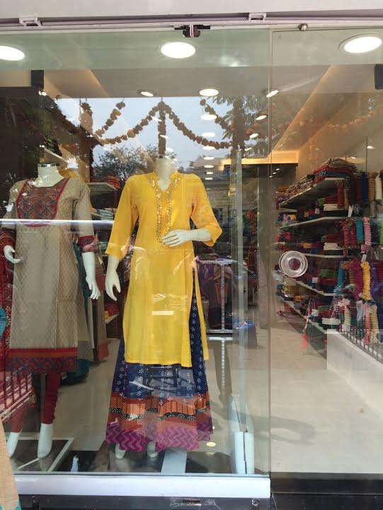 Ethnic clothing stores