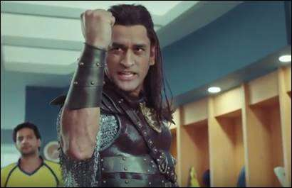 Snickers - MS Dhoni