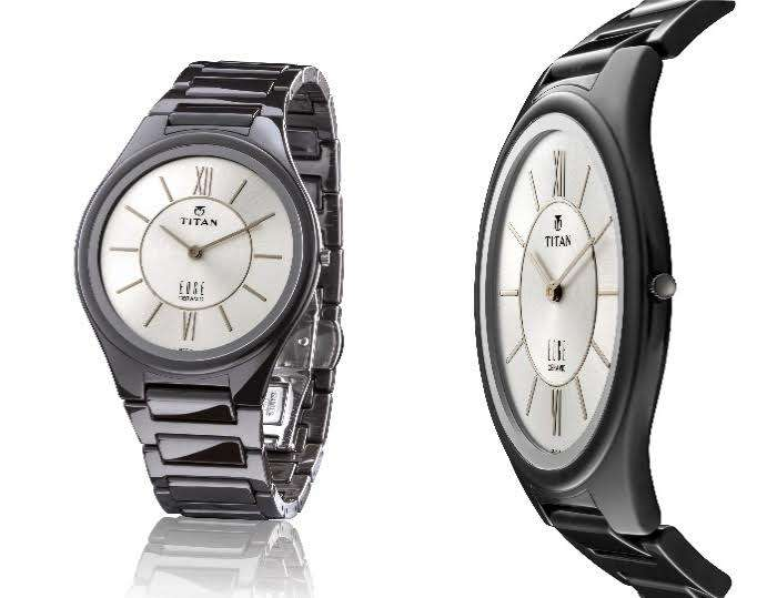 titan edge ceramic worlds slimmest ceramic watch news