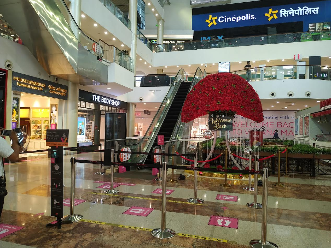 Viviana Mall Thane Red Carpet Welcome for guests