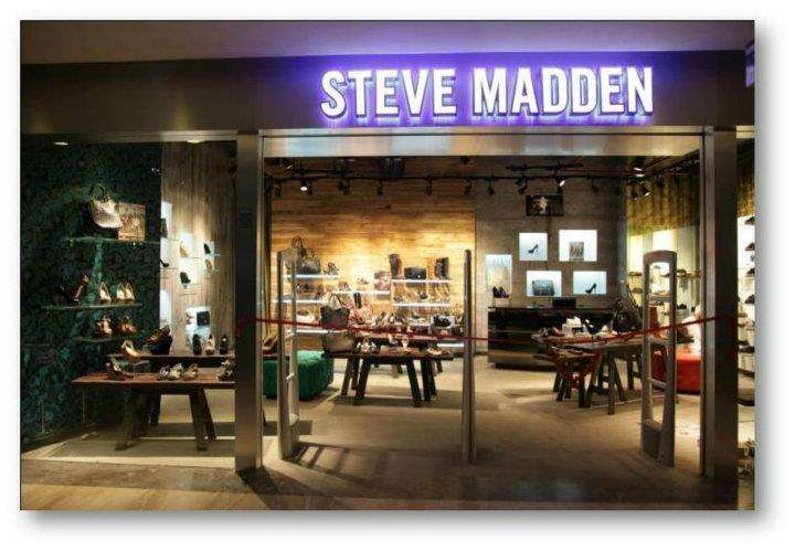 Steve Madden Stores Outlets Restaurants In Palladium