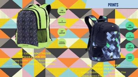 Head Back to Campus with Fastrack's New Backpacks ...