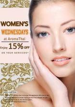 Women's Wednesdays at AromaThai Foot Spa, 15% off on signature therapies