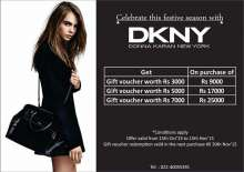 Celebrate the Festive Season with DKNY at Palladium Mall - Offers from 15 October to 15 November 2015