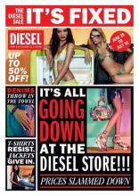 It's all going down at the Diesel store! Upto 50% off on the best styles of the season at Diesel Palladium, High Street Phoenix, Mumbai.