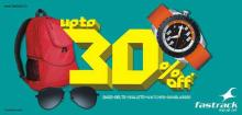 Upto 30% off Sale on Fastrack Bags, Belts, Sunglasses, Wallets & Watches, Fastrack Sales, Fastrack Deals