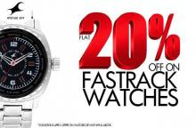 Get Flat 20% off on Fastrack Watches until 18 November 2012 in Mumbai