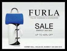 SALE, Upto 40% off on stylish and trendy Italian FURLA bags, Inorbit Malad