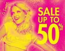 La Senza Semi Annual Clearance Sale - Up to 50% off