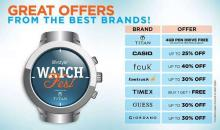 Lifestyle Watchfest in association with Titan is back – bigger and better! Great offers from amazing brands like Casio, FCUK, Guess and many more.