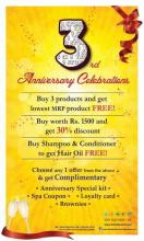 Nature's Co Third Anniversary Celebrations