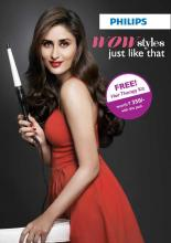 Get a Dove Intense Repair Shampoo & Dove Hair Serum Free on purchase of Philips Hair Styling Products. Offer Valid till 2 October 2012