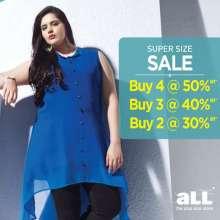 aLL the plus size store super size sale