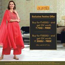 Exclusive Festive Offer from Aurelia  Valid until 27th October 2019