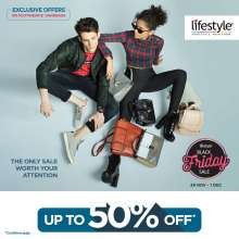 Black Friday Sale at Lifestyle is Back With A Bang!  29th November - 1st December 2019
