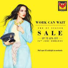 Work Can Wait - End Of Season Sale at Phoenix Marketcity Kurla from 24th June 2016