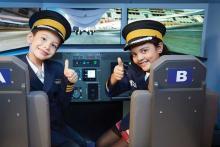 KidZania - Young pilots get prepared for their next flight training