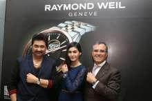 RAYMOND WEIL felicitated Bollywood actress Amyra Dastur and playback singer Kumar Sanu as part of its Global practice at Palladium Mumbai