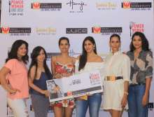 Renowned actors and models celebrate the 'Power Woman Food Fiesta' at Phoenix Marketcity, Kurla