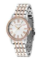 A range of chic metropolitan timepieces from Police - PL-14499MSTR04M
