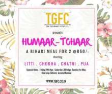 ' Humaar Tohaar - A Homemade Bihari Litti Chokha Delivered to Your Doorstep in Mumbai by TGFC - The Gourmet Food Company