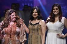 Delnaz Irani, Vahbiz Dorabjee - aLL- The Plus Size Store Presented A Trend-Setting Plus Size Parade In Their 4th Season Of The Iconic Plus Size Fashion Show At LFW WF 19 With Designer Rina Dhaka