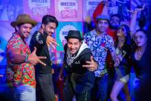 Breezer Vivid Shuffle Season 3 Finale Gets Crazy & Colourful with Varun Dhawan