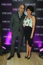 Actress and Model Himashi Choudhary at the Creyate Game Suit Match Event
