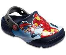CROCS Avengers Multi-Navy Clogs