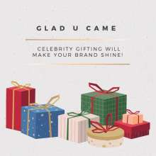Glad U Came unveils the Festive Box  An Amazing Celebrity Gifting Service