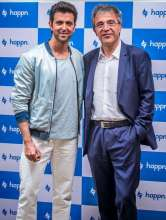 Hrithik Roshan, Didier Rapoport-CEO,_Hrithik Roshan for Happn