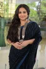 Bundle of Talent Vidya Balan adorns label Indigene for the promotions of Begum Jaan