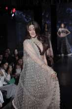 The Charming Nupur Sanon Debuts As A Showstopper forDesigner Jesal Vora at The Wedding Junction Show