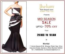 Jhelum Store has brought in Mid- Season Sale in Mumbai