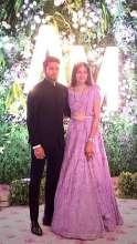 Cricketer Manish Pandey's Beau Ashrita Shetty's Wedding Looks In Kalki Are Pure Bridal Goals