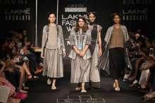 Nakita Singh at Lakme Fashion Week WF 17