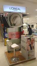 L'Oreal Paris Clay Mask Activation across Multiple Stores in Multiple Cities